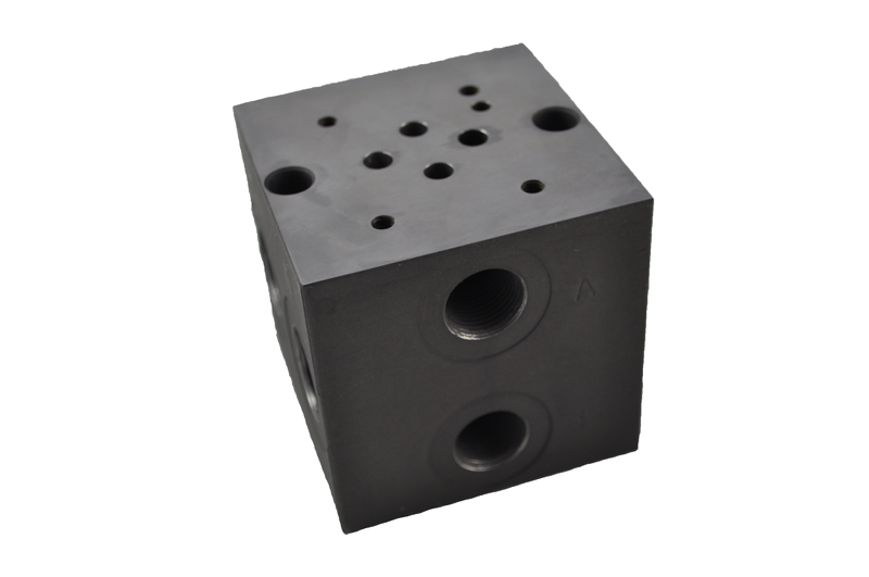 Cetop 3 Manifold Blocks 300 Bar (Steel)