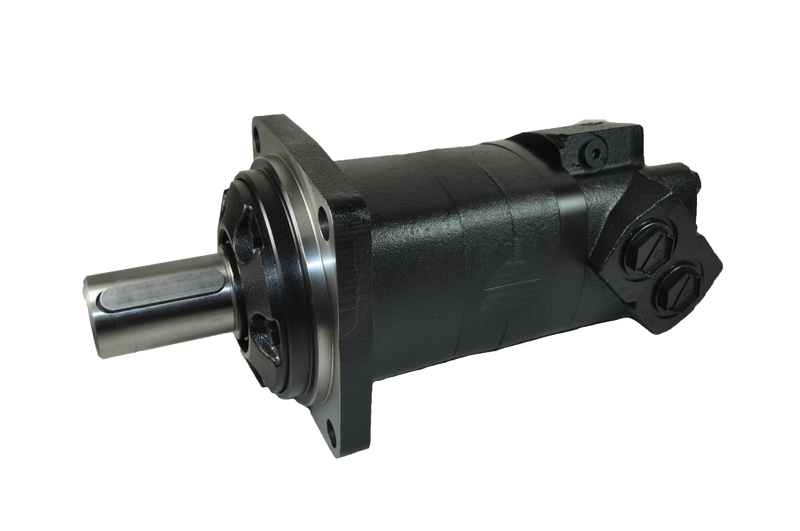 Wheel Mounting, 40mm Keyed Shaft, 1″BSP Ports