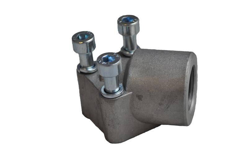 Gear Pump Port Flanges Elbows