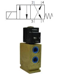 Max 17 L/Min / 210 Bar 4.Way 2.Position Spool Valve